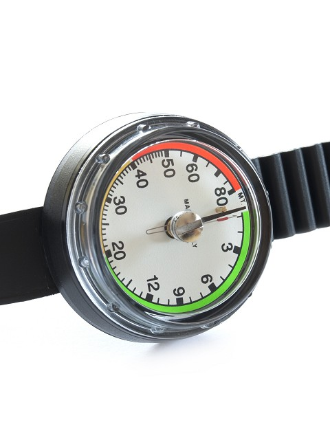 Depth Gauge with wristband