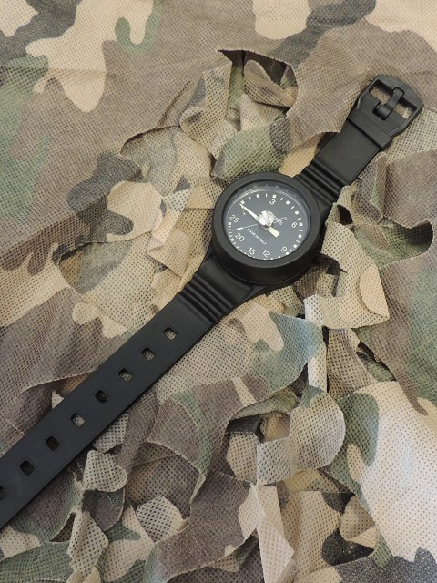 Military Mini Depth gauge with wristband