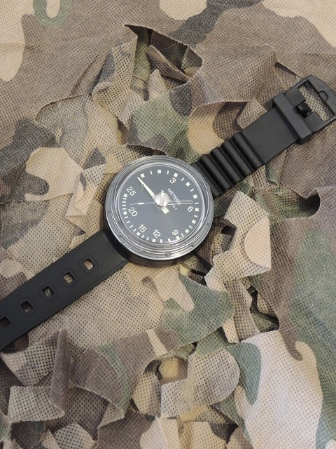 Military Depth Gauge with wristband